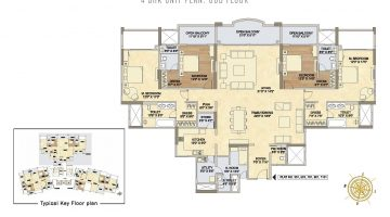 4 BHK Floor Plan-page-001