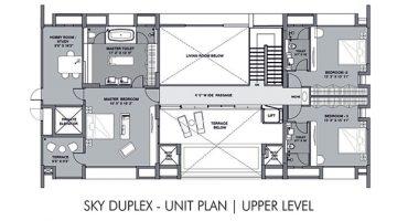 Sky duplex upper